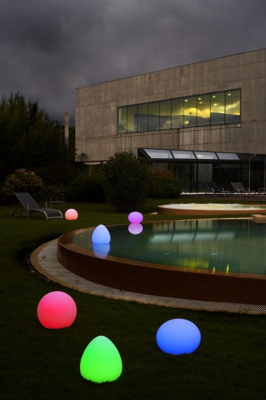 Led leuchte starlight dekoration f r pool und garten for Pool dekoration