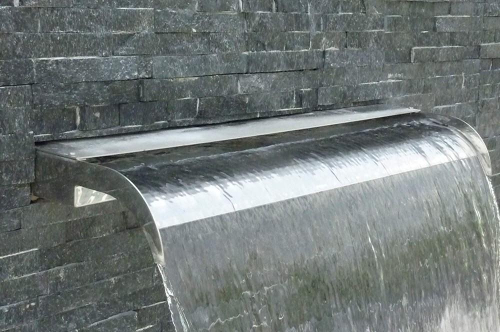 Edelstahl Wasserfall Cascade Von Ideal Hitl Gmbh