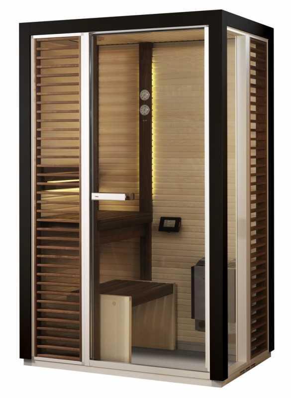 saunakabine impression i1309 saunavergn gen auf kleinstem. Black Bedroom Furniture Sets. Home Design Ideas