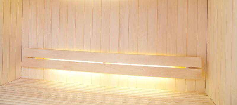 led lichtleisten set f r die sauna hitl gmbh. Black Bedroom Furniture Sets. Home Design Ideas