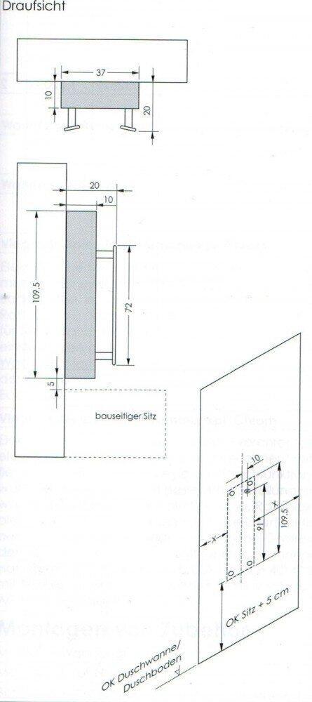 dusche nachrsten dusche glaswand einsetzen und anschlieen. Black Bedroom Furniture Sets. Home Design Ideas