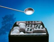 Dampfsteine mit Bohrungen von Finnsa