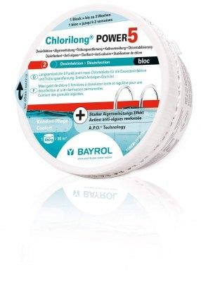 Chlorilong Power 5 Bloc 30 m³, Kombiprodukt 0,65 kg