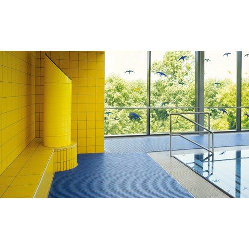 supergrip hygienematte aus hart pvc rolle 60 cm breit. Black Bedroom Furniture Sets. Home Design Ideas