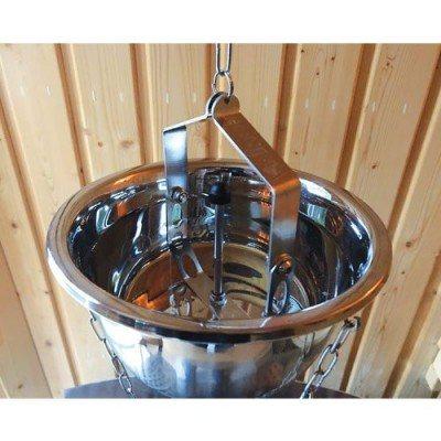 Aquadropper, die kleine automatische Aufgussvorrichtung von Finnsa