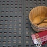 """Kunststoff-Bodenrost """"Clippy"""" für Sauna und Dampfbad"""