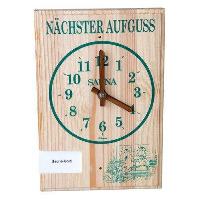 Aufguss-Uhr von Finnsa für die Sauna
