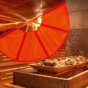 Sauna-Aufgussfächer
