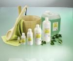 Aufguss- und Duftkonzentrate, Hautpflege