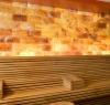 Salzsteine zur Verwendung in der Sauna