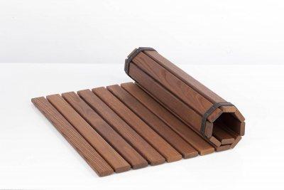 Bodenmatte aus Thermoholz 60x80xcm