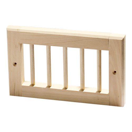 l ftungsgitter erle f r die sauna hitl gmbh. Black Bedroom Furniture Sets. Home Design Ideas
