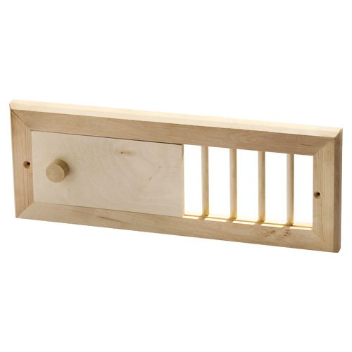 l ftungsschieber erle f r die sauna hitl gmbh. Black Bedroom Furniture Sets. Home Design Ideas