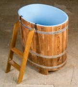 Sauna-Tauchbecken Lärche zur Abkühlung nach dem Saunagang