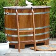 Sauna-Tauchbecken Kambala für den Außenbereich