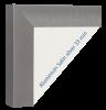 Rahmen Satin silver 33 mm