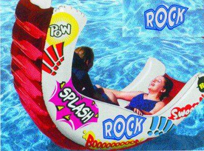Aqua Rocker Fun Float, der Wasserspaß für Ihre Kinder