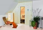 Sonstige bauliche Einbauten und Umbauten bei der Arend Sauna, z. B. geänderte Saunahöhe, Sturzverkleidung usw.