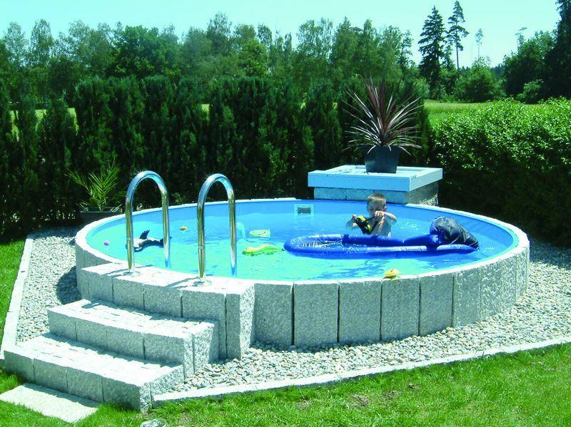 Kinderbecken child von future pool kombihandlauf hitl gmbh for Garten pool tiefe