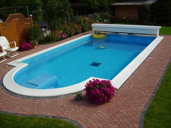 baus tze f r power s becken von future pool folie blau. Black Bedroom Furniture Sets. Home Design Ideas