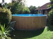 Rundbecken FUN WOOD von Future Pool, der  exlusive Schwimmspaß