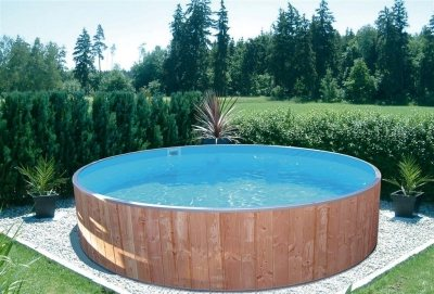 Kinderbecken fun wood von future pool der exclusive pool - Gunstige pools zum eingraben ...