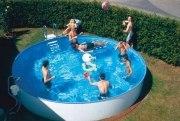 Rundbecken FUN als ALL-IN-Schwimmbeckenset in der Höhe 120 cm