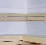 Innenverkleidung aus Furnierplatte in Hemlock, Nussbaum oder Bergahorn und neu WAVE