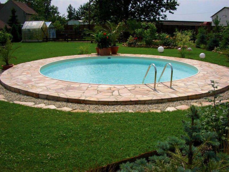 Kinderbecken minifun von future pool folienfarbe sand for Pool rundbecken