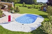 Langformbecken-Komplettset Laguna E+ von D&W Pool