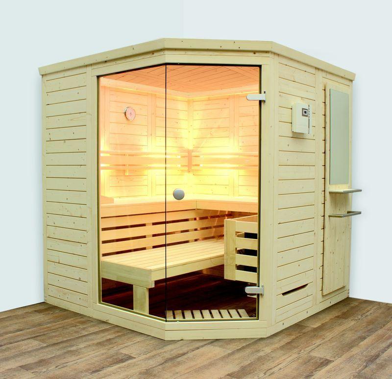 massivholzsauna saari komfort von arend hitl gmbh. Black Bedroom Furniture Sets. Home Design Ideas