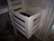 Ofenschutzgitter Abachi für Ihren Saunaofen