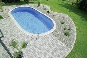 Langformbecken-Komplettset Lago SB Spezial von D&W Pool