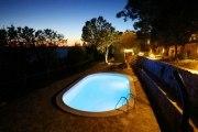 Ovalschwimmbecken SWIM, Innenhülle 0,6mm, Standardhandlauf