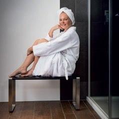 Infrarot für Dampfbad und Dusche
