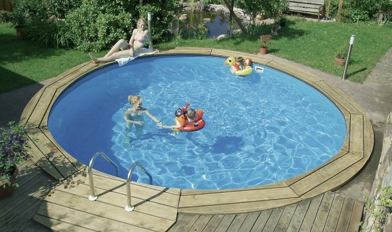 Rundbecken komplettset bari von d w pool hitl gmbh for Pool rundbecken
