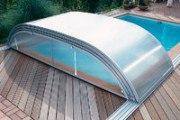 Schiebeüberdachung  SUN ROOF Elegance, Hallenbreite 4,0 m
