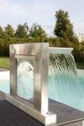 Schwalldusche Aquarius, Edelstahl und Acrylglas in neuer Kombination