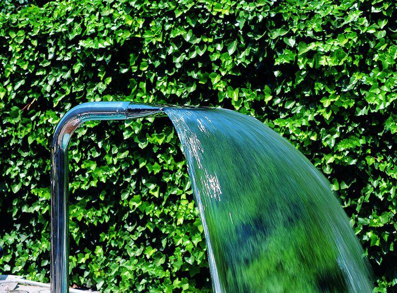 Schwalldusche boa aus edelstahl hitl gmbh for Garten pool 2m