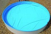 Sicherheits-Schwimmbadabdeckung Safe-Top für Achtformbecken