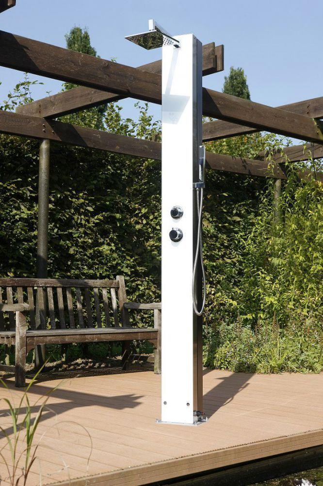 solardusche tobago im edlen design hitl gmbh. Black Bedroom Furniture Sets. Home Design Ideas