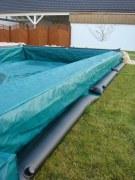 Wassersack für die Winterabdeckplanen-Befestigung