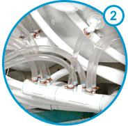 Standardausstattung der Serenity Whirlpools von Hydropool