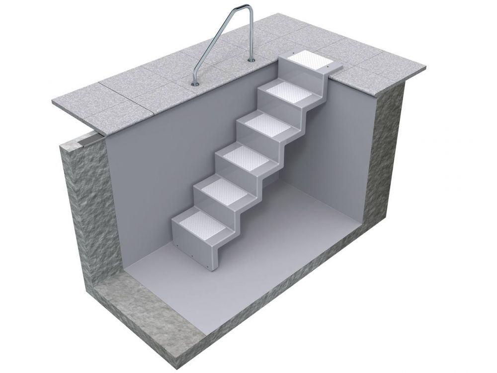 universaltreppe eleganz auch zum nachtr glichen einbau. Black Bedroom Furniture Sets. Home Design Ideas