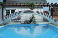 Verwandeln Sie Ihr Schwimmbad in ein  All-Wetter-Bad
