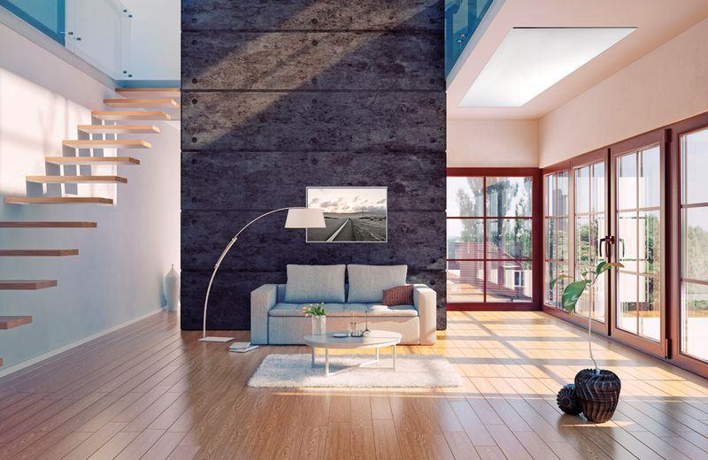 bild infrarotheizung mit glasfront und rahmen hitl gmbh. Black Bedroom Furniture Sets. Home Design Ideas